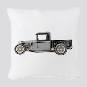 1932 Ford Woven Throw Pillow