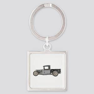 1932 Ford Square Keychain