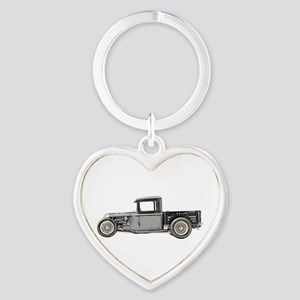1932 Ford Heart Keychain