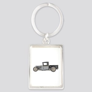 1932 Ford Portrait Keychain