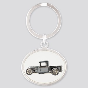 1932 Ford Oval Keychain