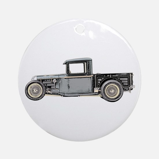 1932 Ford Ornament (Round)