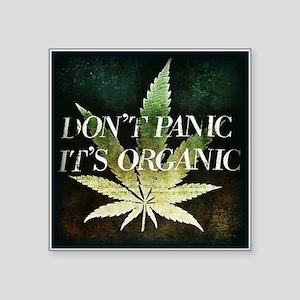 Dont Panic, Its Organic Sticker