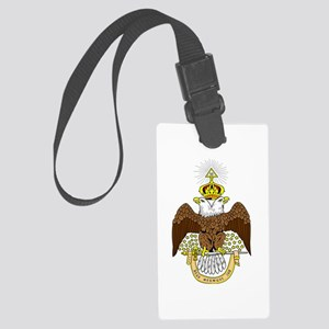 Scottish Rite Luggage Tag