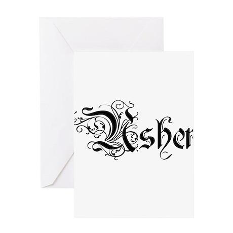 Usher Greeting Cards