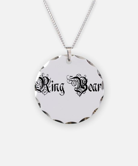 Ring Bearer Necklace