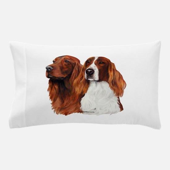 Irish Setters Pillow Case