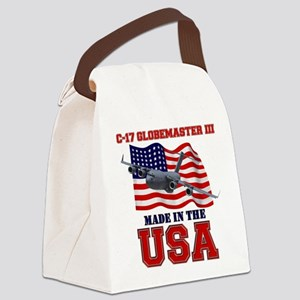 C-17 Globemaster III Canvas Lunch Bag