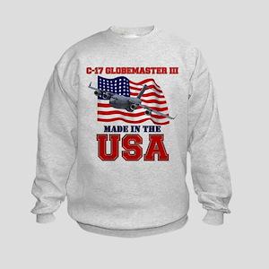 C-17 Globemaster III Kids Sweatshirt