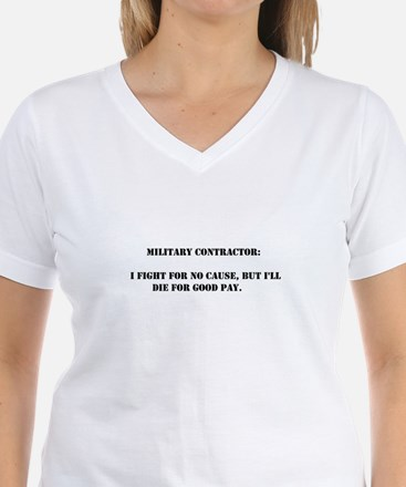 Military contractor Shirt