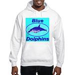 Blue Dolphins Hooded Sweatshirt