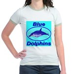 Blue Dolphins Jr. Ringer T-Shirt