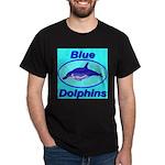 Blue Dolphins Dark T-Shirt