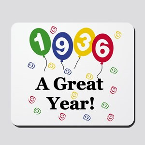 1936 A Great Year Mousepad