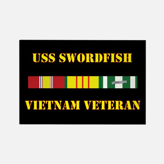 USS Swordfish Magnets