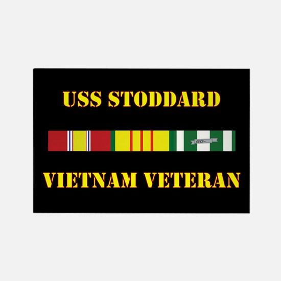 USS Stoddard Magnets