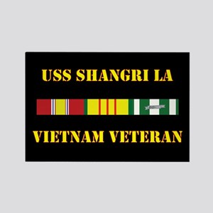 USS Shangri La Magnets