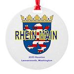 Round Ornament Reunion Logo