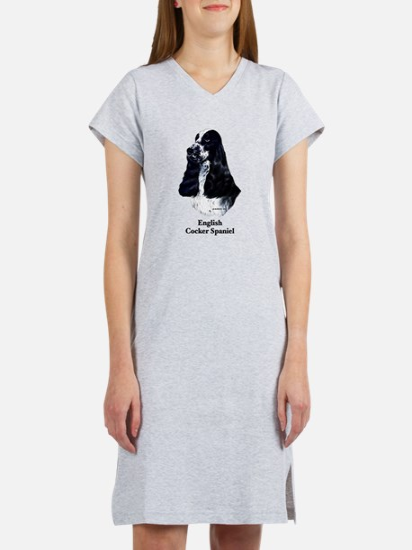 English Cocker Spaniel Women's Nightshirt