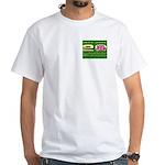 Iowa British 20th Anniversary White T-Shirt