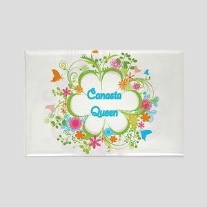 Canasta Queen Swirl Magnets