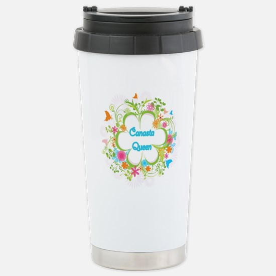 Canasta Queen Swirl Travel Mug