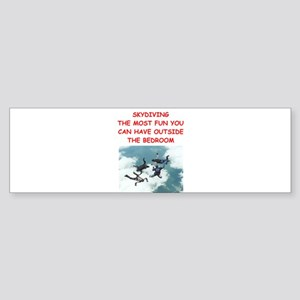sky diving Bumper Sticker