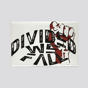 Divided WE Fall (OBEY Design) Rectangle Magnet