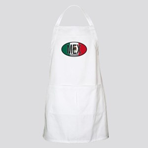 Mexico Colors BBQ Apron