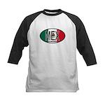 Mexico Colors Kids Baseball Jersey
