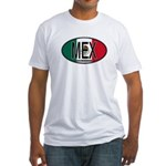Mexico Colors Fitted T-Shirt