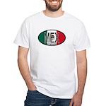 Mexico Colors White T-Shirt