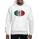 Mexico Colors Hooded Sweatshirt