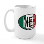 Mexico Colors Large Mug