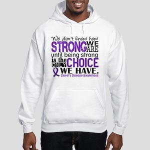 Crohn's HowStrongWeAre Hooded Sweatshirt