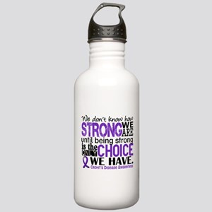 Crohn's HowStrongWeAre Stainless Water Bottle 1.0L