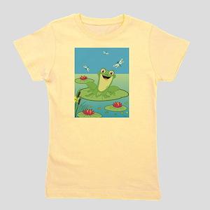 Happy Frog Girl's Tee T-Shirt