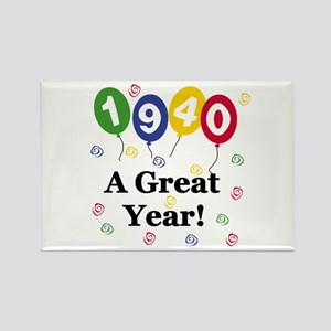 1940 A Great Year Rectangle Magnet