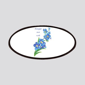 Forget-Me-Not Watercolor Flower & Quote Patches