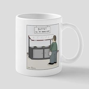 All you should eat 11 oz Ceramic Mug
