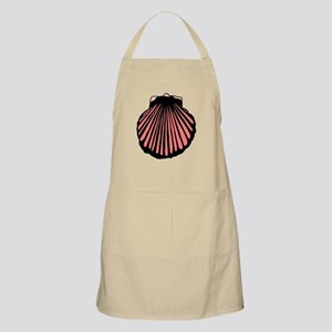 Pink Sea Shell Apron