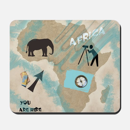 Trip to Africa Mousepad