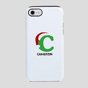 Christmas Letter C Monogram iPhone 7 Tough Case
