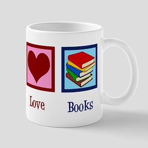 Cute Bookworm 11 oz Ceramic Mug