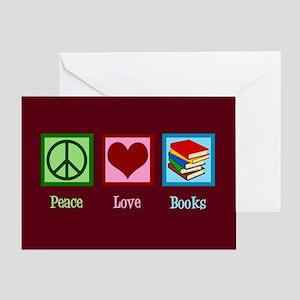 Cute Bookworm Greeting Card