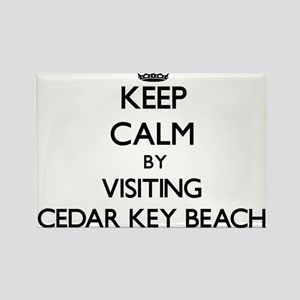 Keep calm by visiting Cedar Key Beach Florida Magn