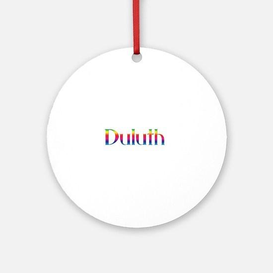 Duluth Ornament (Round)