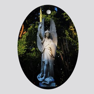 St Michael The Archangel Oval Ornament