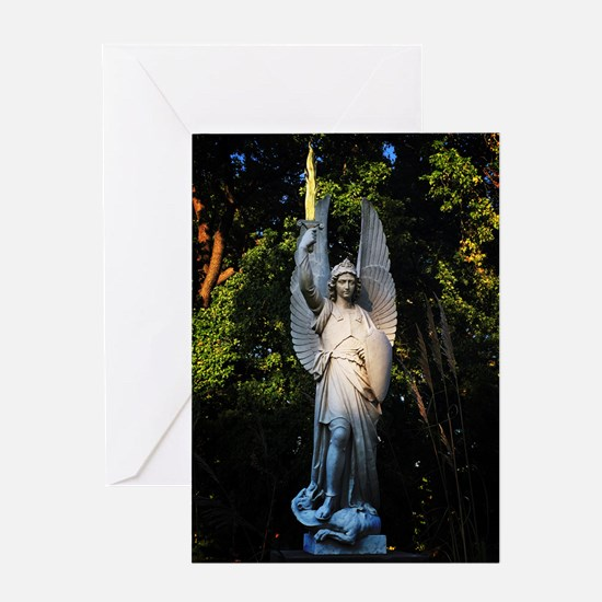 St Michael The Archangel Greeting Cards