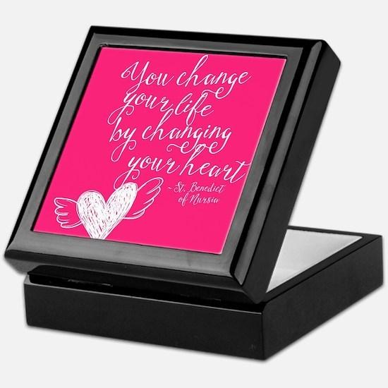 Change Your Life Keepsake Box
